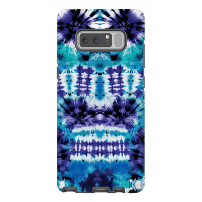 Blue Tie Dye Galaxy Note 8 and 9