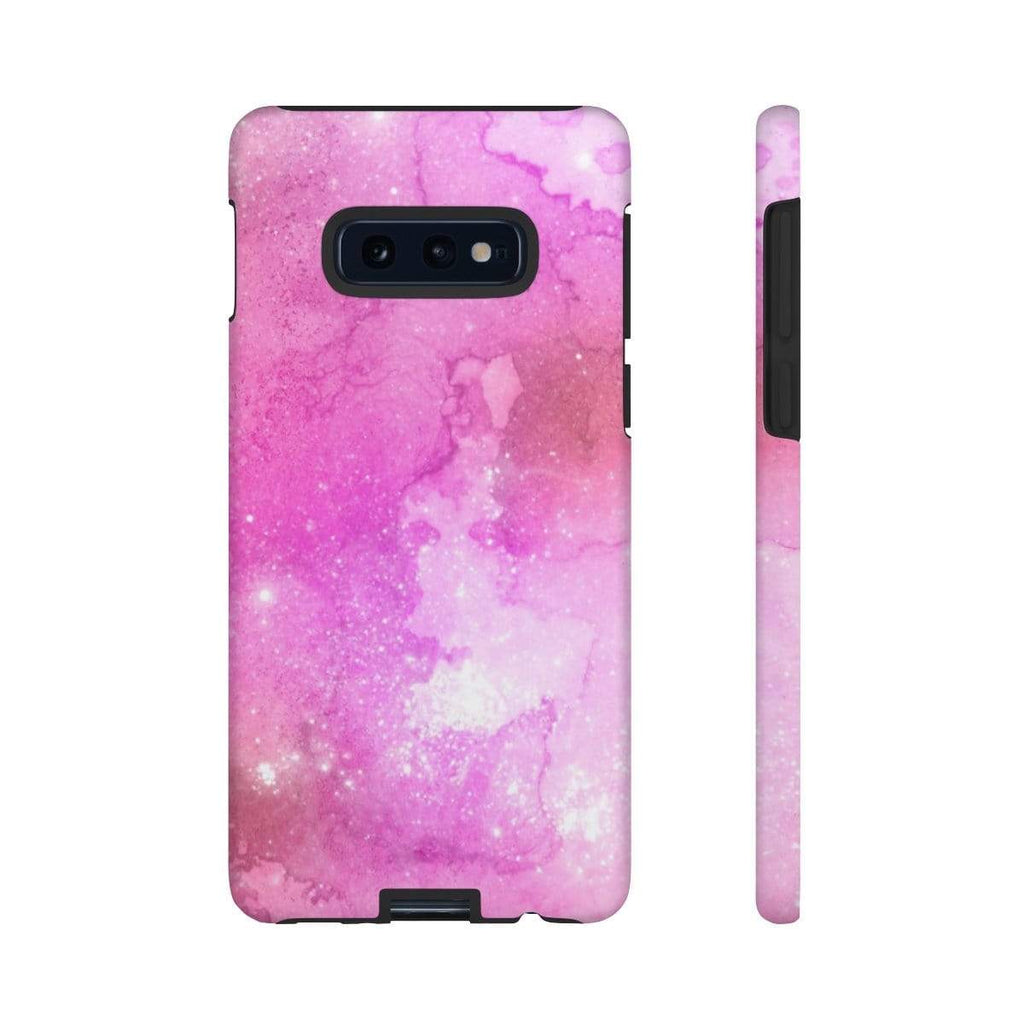 Pink Space Galaxy 10 Series Tough Case - Purdycase