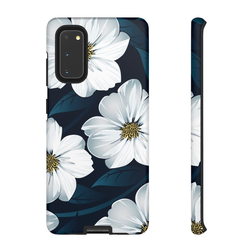 White Hawaiian Floral S20 Series - Purdycase