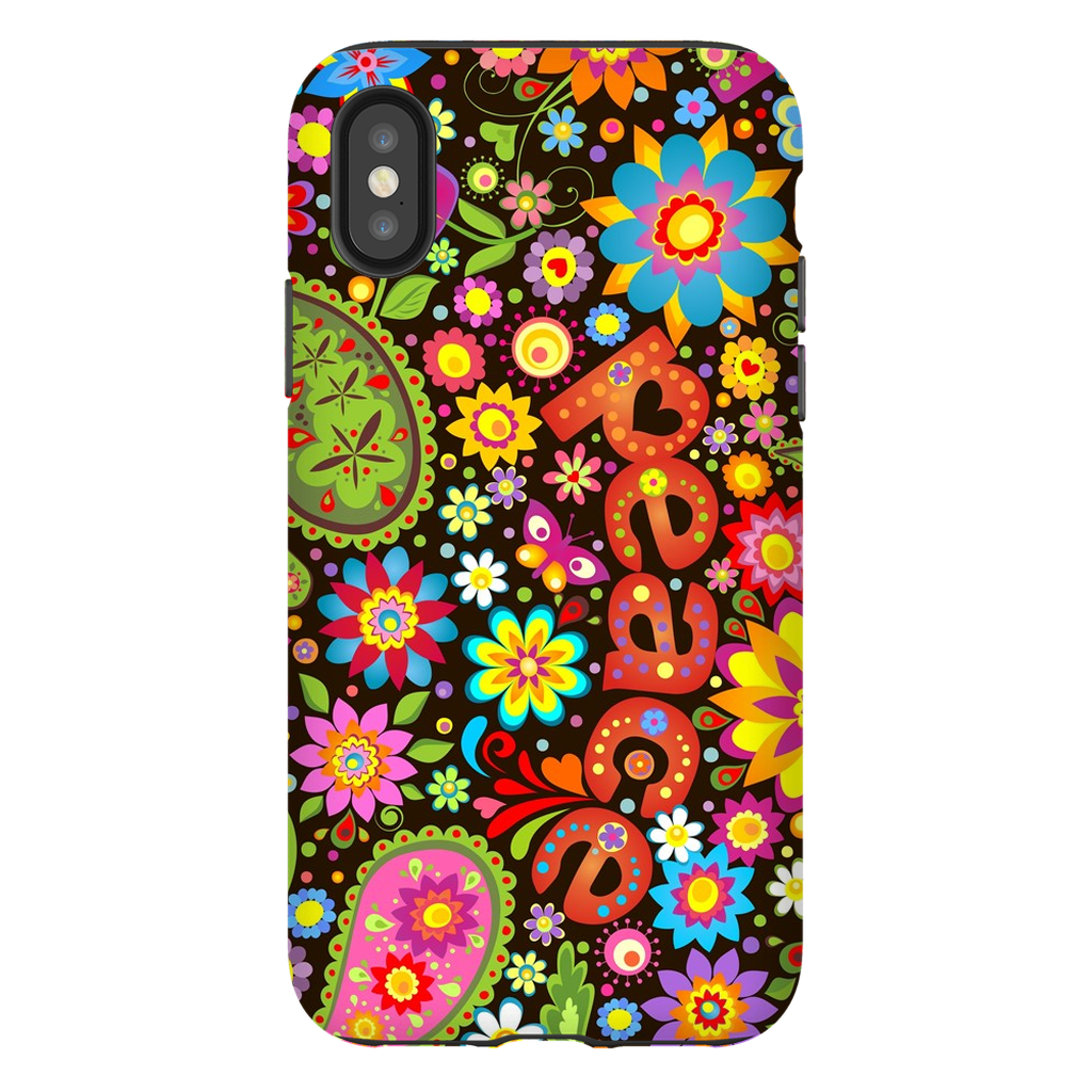 60s Flower Power iPhone X-XS Max Series - Purdycase