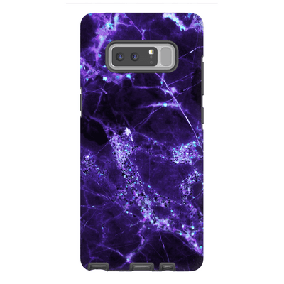 Midnight Purple Marble Galaxy Note 8-10Plus Series