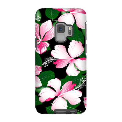 Hawaiian Pink Floral Galaxy S6-S9 Plus Series