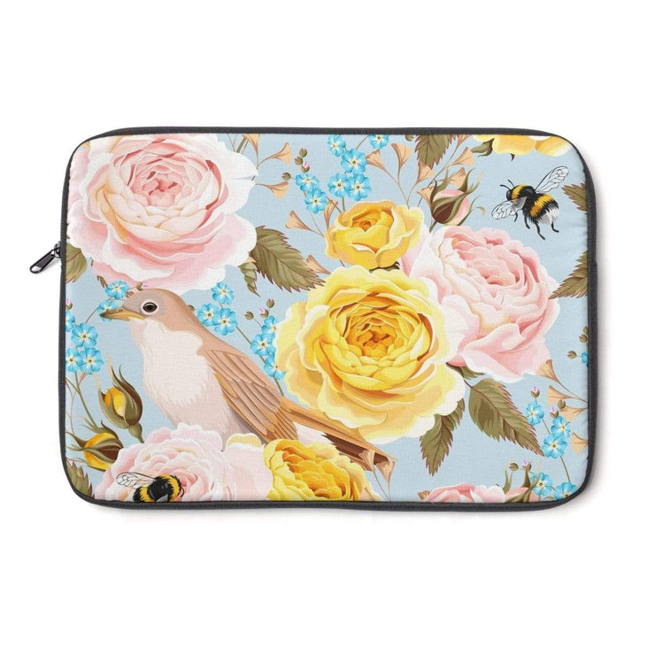 Vintage Flower Laptop Sleeve - Purdycase