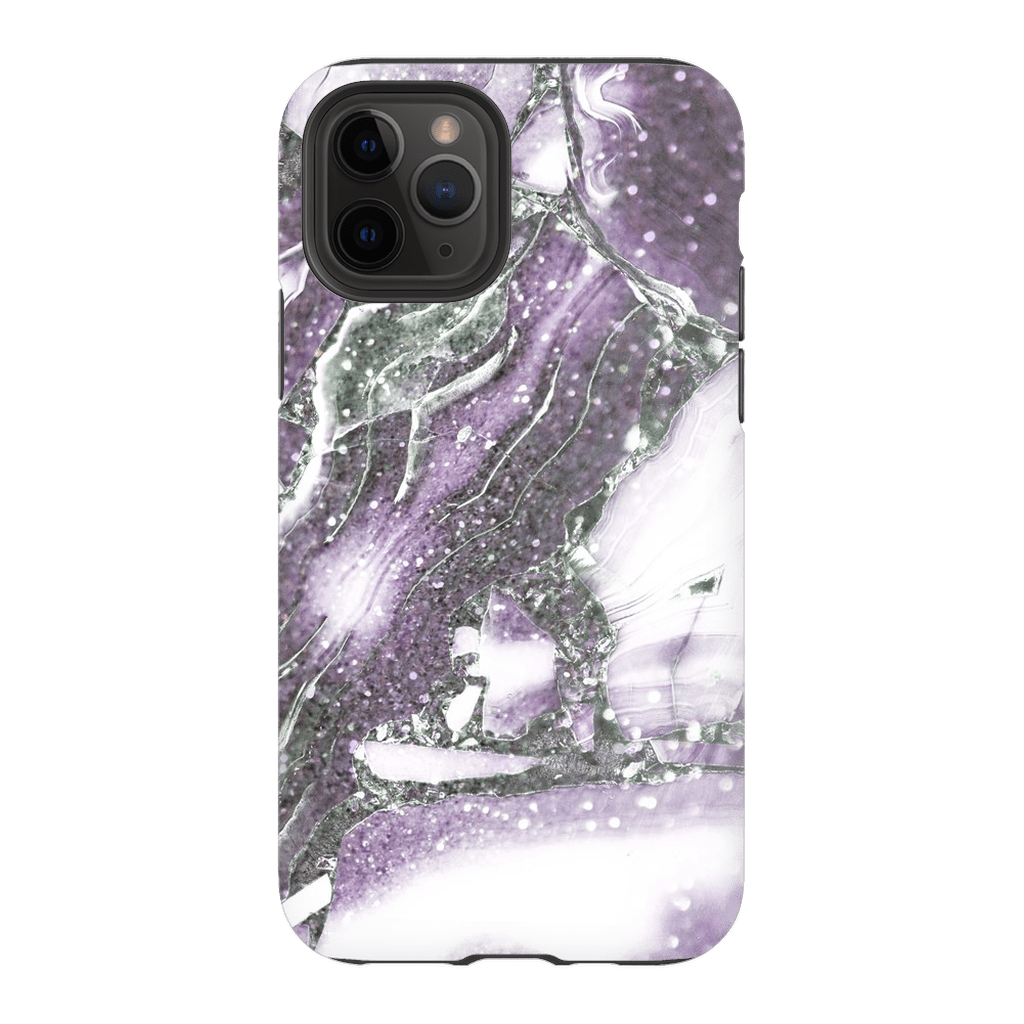 Purple White Marble iPhone 11 Series - Purdycase