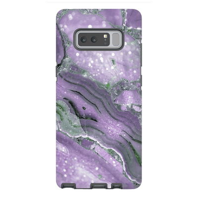 Purple Gold Galaxy Note 8 and 9 Tough Case