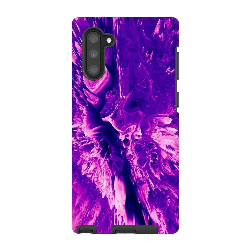3D Purple Abstract Galaxy Note 10 and 10 Plus - Purdycase