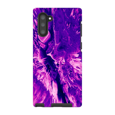 3D Purple Abstract Galaxy Note 10 and 10 Plus