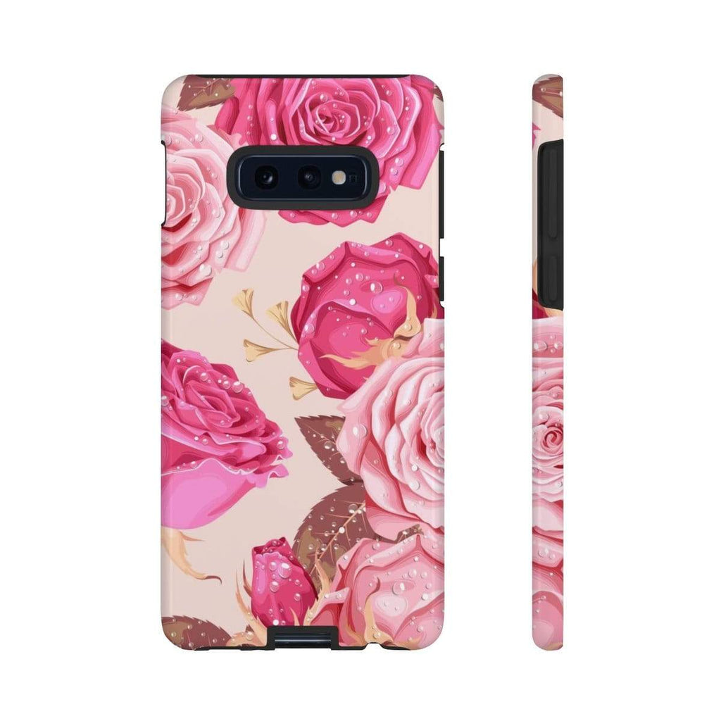 Rose Flower Galaxy 10 Series Tough Case - Purdycase