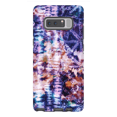 Purple Tie Dye Galaxy Note 8 and 9 Tough Case