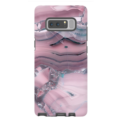 Pink Marble Galaxy Note 8-10+ Series