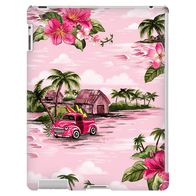 Pink Hawaiian iPad 3/4 Mini, Tablet Case