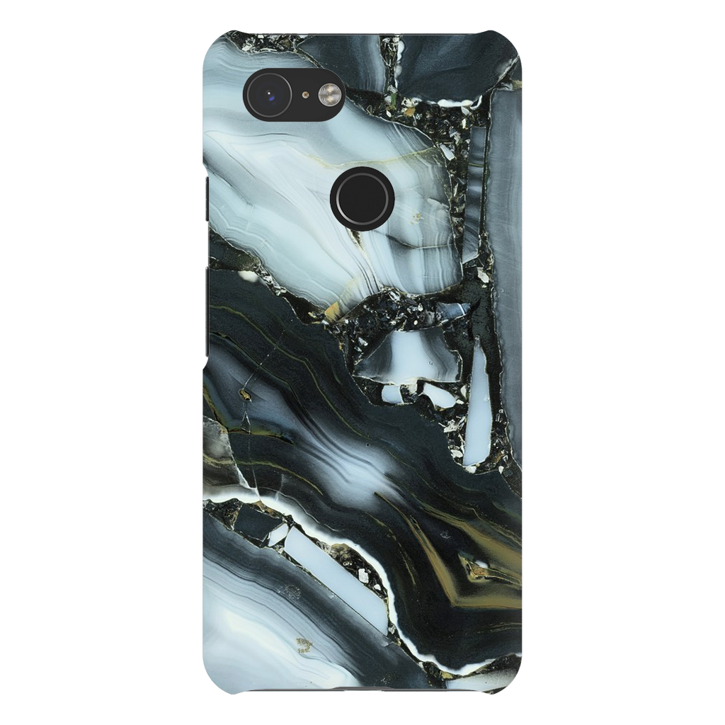 Blue Cracked Marble Google Pixel X-3XL Series - Purdycase