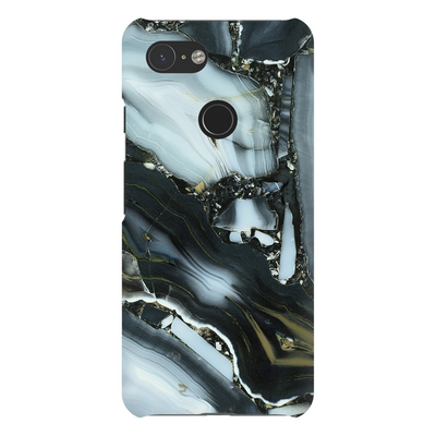 Blue Cracked Marble Google Pixel X-3XL Series
