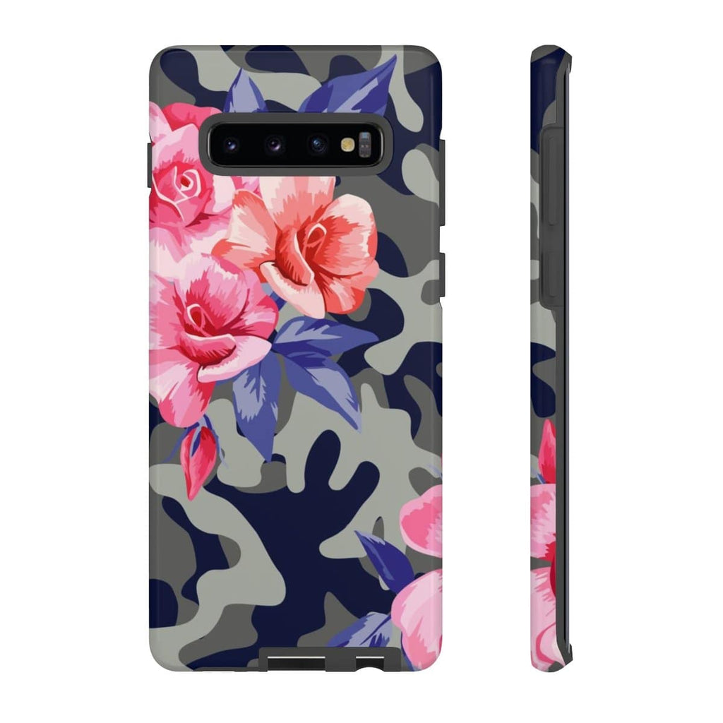 Pink Camo Galaxy 10 Series Tough Case - Purdycase