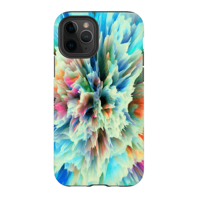 Yellow Abstract iPhone 11 Series Tough Case