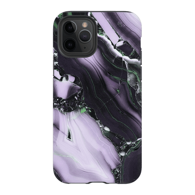 Purple Black Marble iPhone 11 Series