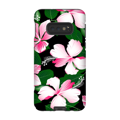 Hawaiian Pink Floral Galaxy S10-S10 Plus Series