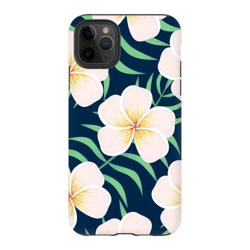 Plumeria iPhone X-XS Max Tough Case - Purdycase