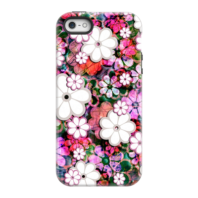 Psychedelic Floral iPhone 5-8 Plus Series