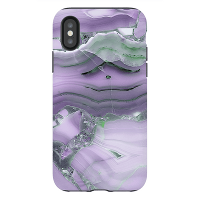 Purple Marble iPhone X-XS Max