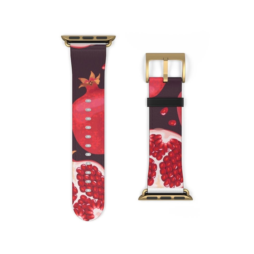 Pomegranate Apple Watch Band - Purdycase