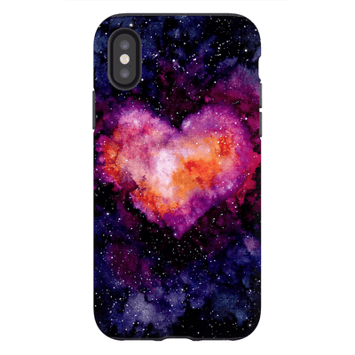 Space Heart iPhone X-XS MaX Tough Case - Purdycase