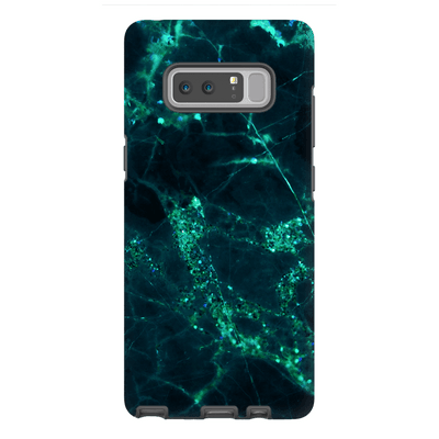 Midnight Shamrock Marble Galaxy Note 8-10Plus Series