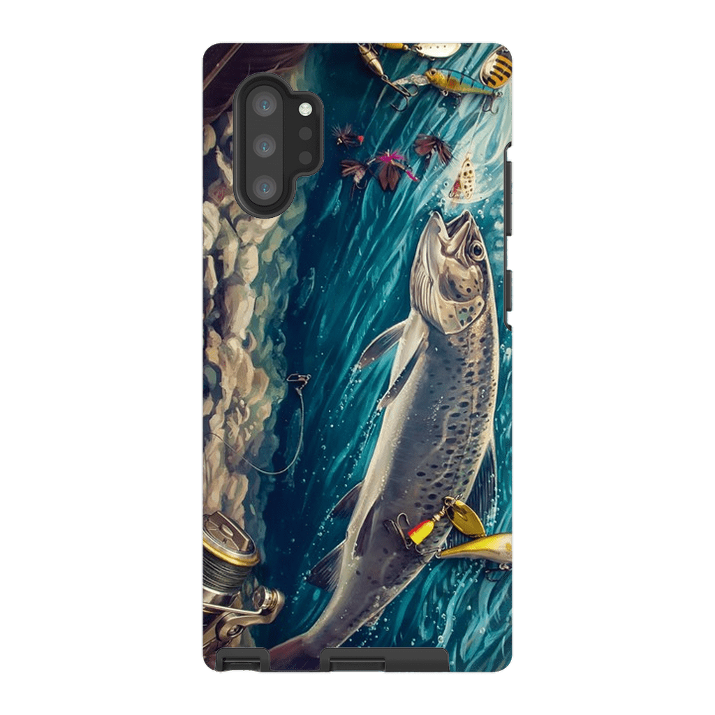 Trout Fish Galaxy Note 10 and 10 Plus Tough Case - Purdycase
