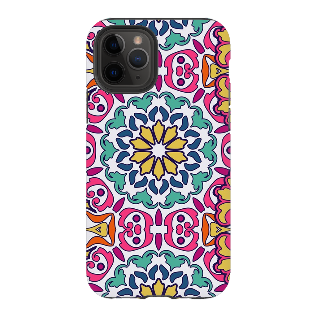 Multi-Color Flower Mandala iPhone 11 Series - Purdycase