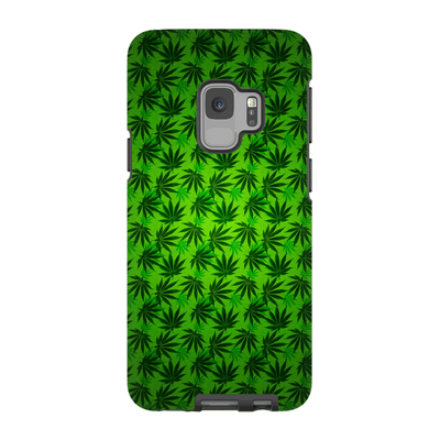 Green Cannabis Galaxy 6-9 Series Tough Case