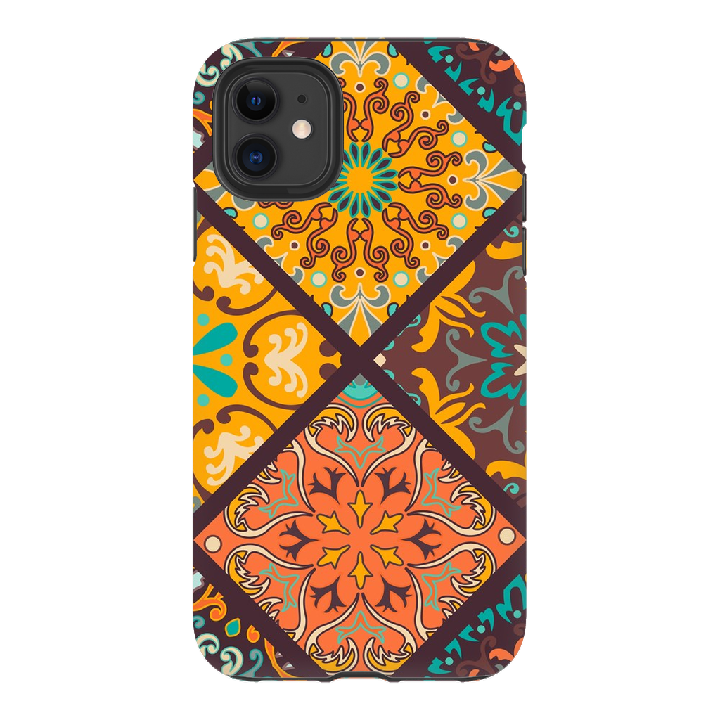 Orange Mandala iPhone 11 Series - Purdycase