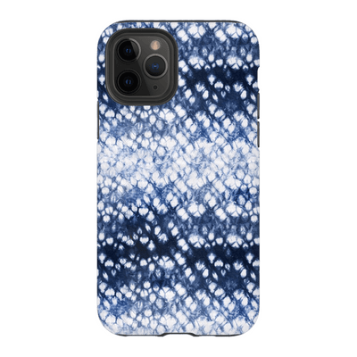 Blue Rain Tie Dye iPhone 11 Series - Purdycase