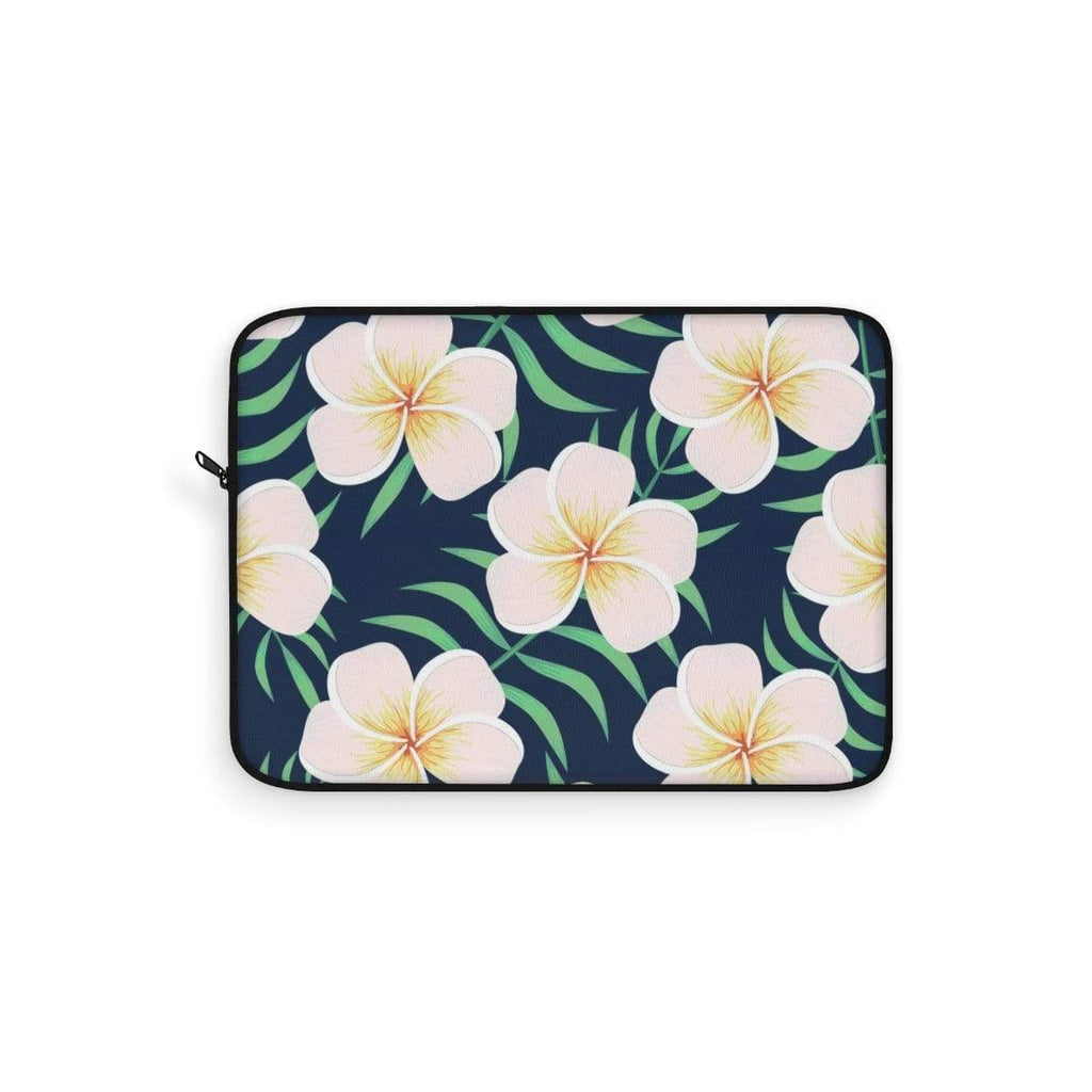 Hawaiian Plumeria Laptop Sleeve - Purdycase