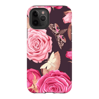 Butterfly Rose Pattern iPhone 11 Series