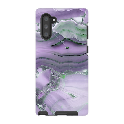 Purple Marble Galaxy Note S10 Series