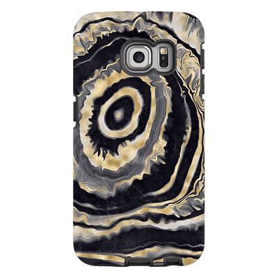 Gold Agate Galaxy S6 Edge and S6 Edge Plus Tough Case - Purdycase