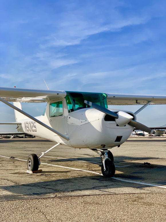 N3012S-1967 Cessna 150G, Rental $100 per hour ($10.00 per tenth)