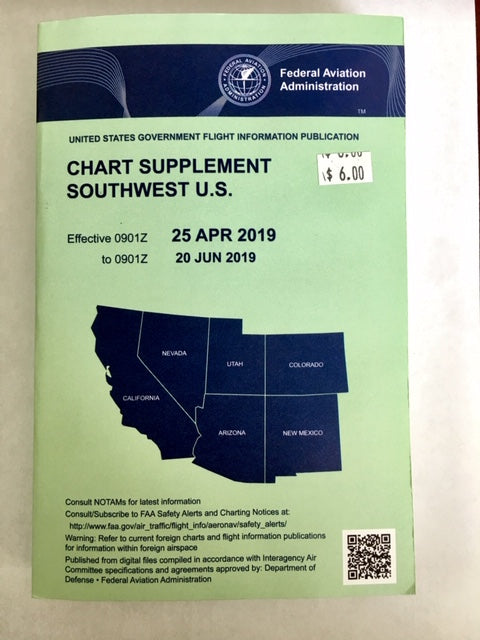 Chart Supplement Southwest U.S.