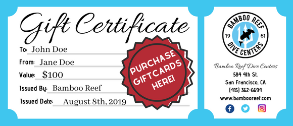 Bamboo Reef Gift Card