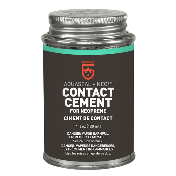 Seal Cement Black Can - 4oz