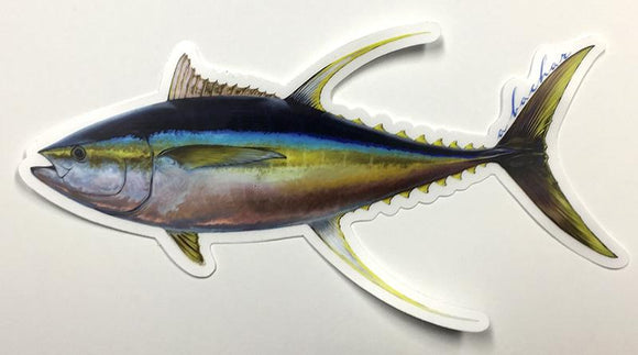 Abachar Yellowfin Tuna - Sticker 8.5