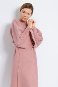 Wrap Dress Coat