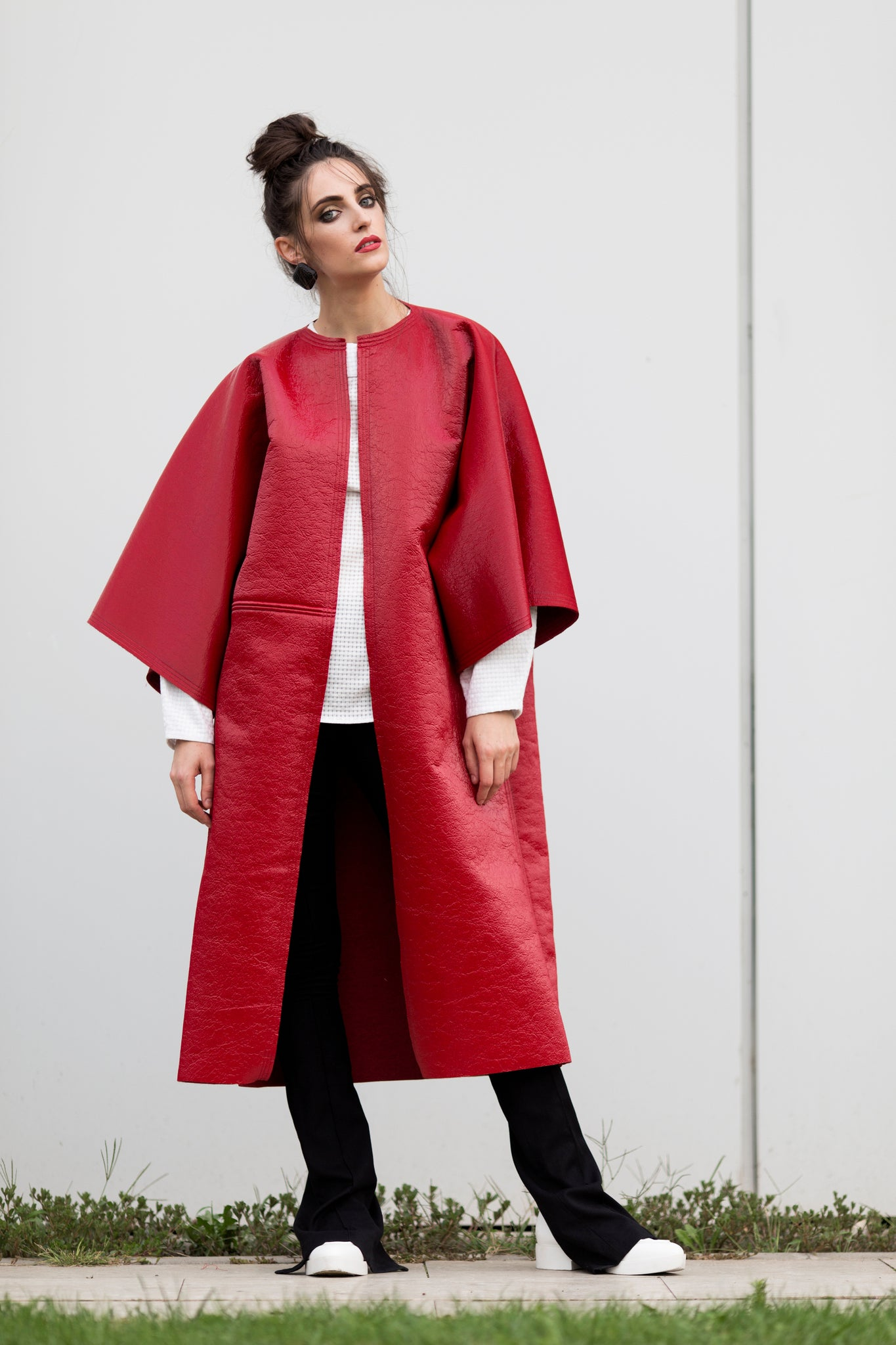 Deconstructed Design Coat