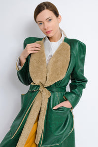 Belted Mid Length Coat
