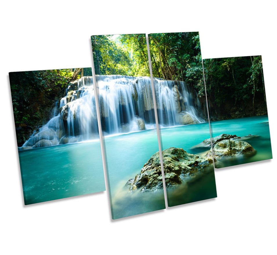 Paradise Waterfall Tropical Forest