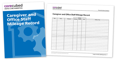 Caregiver and Office Staff Mileage Record