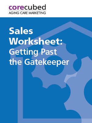 Sales Worksheet: Getting Past the Gatekeeper