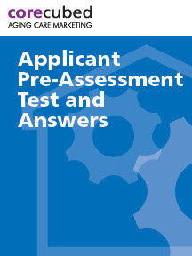 Applicant Pre-Assessment Test and Answers