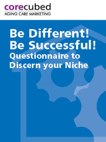 Be Different! Be Successful! Questionnaire to Discern your Niche