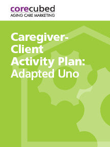 Caregiver-Client Activity Plan: Adapted Uno